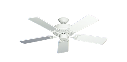 "Picture of Bimini Breeze V Pure White with 44"" Pure White Gloss Blades"