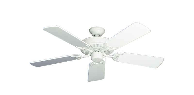 "Bimini Breeze V Pure White with 44"" Pure White Gloss Blades"