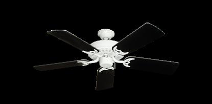 "Picture of Bimini Breeze V Pure White with 44"" Black Blades"