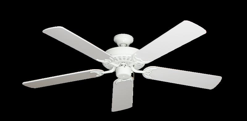 """Picture of Bimini Breeze V Pure White with 52"""" Pure White Blades"""