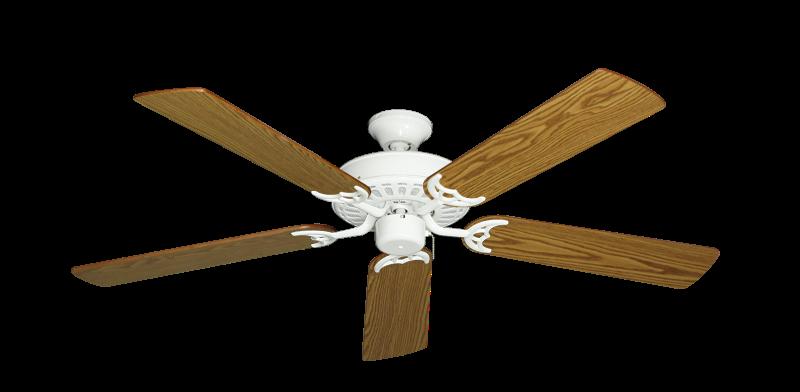"""Picture of Bimini Breeze V Pure White with 52"""" Oak Blades"""