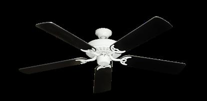 "Picture of Bimini Breeze V Pure White with 52"" Black Blades"