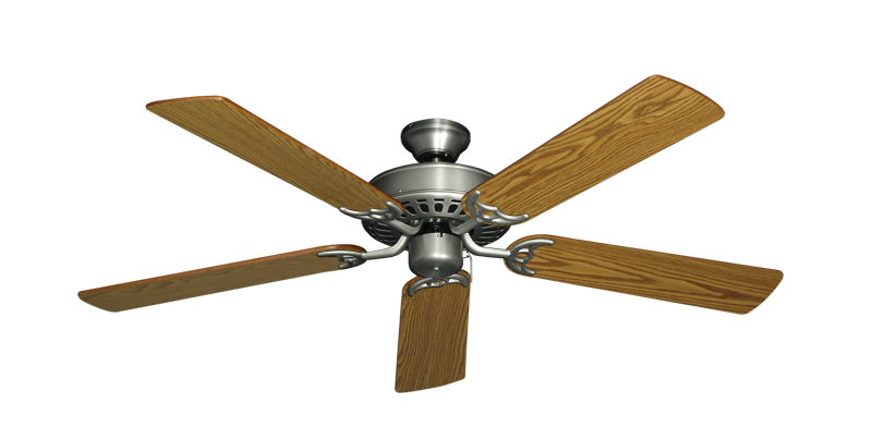 "Picture of Bimini Breeze V Satin Steel with 52"" Oak Blades"