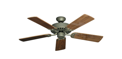 "Picture of Bimini Breeze V Antique Bronze with 44"" Walnut Gloss Blades"