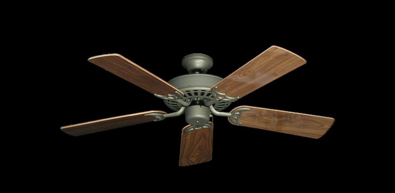 "Bimini Breeze V Antique Bronze with 44"" Walnut Gloss Blades"
