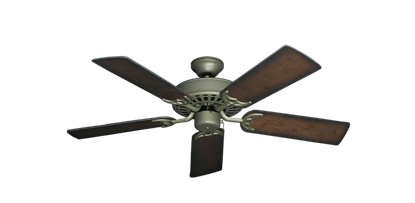 "Picture of Bimini Breeze V Antique Bronze with 44"" Distressed Hickory Blades"