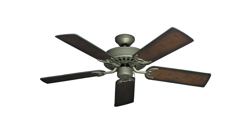 """Picture of Bimini Breeze V Antique Bronze with 44"""" Distressed Hickory Blades"""
