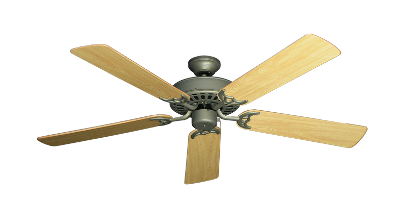 "Picture of Bimini Breeze V Antique Bronze with 52"" Honey Oak Gloss Blades"