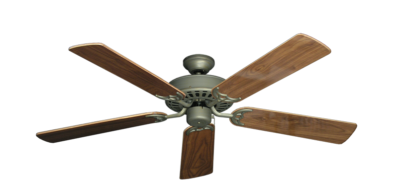 "Picture of Bimini Breeze V Antique Bronze with 52"" Walnut Gloss Blades"