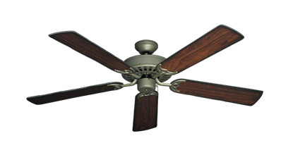 "Picture of Bimini Breeze V Antique Bronze with 52"" Burnt Cherry Blades"