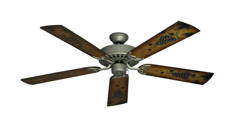"Picture of Bimini Breeze V Antique Bronze with 52"" Series 353 Arbor Grapes Blades"