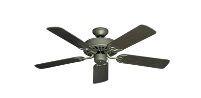 "Picture of Bimini Breeze V Antique Bronze with 44"" Outdoor Oil Rubbed Bronze Blades"