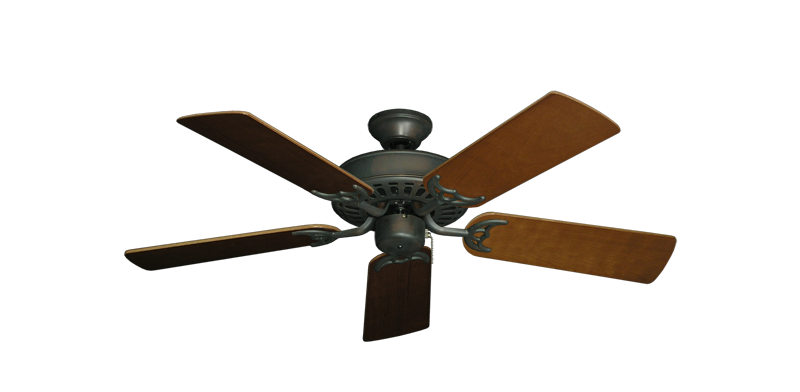 "Picture of Bimini Breeze V Oil Rubbed Bronze with 44"" Natural Cherry Blades"