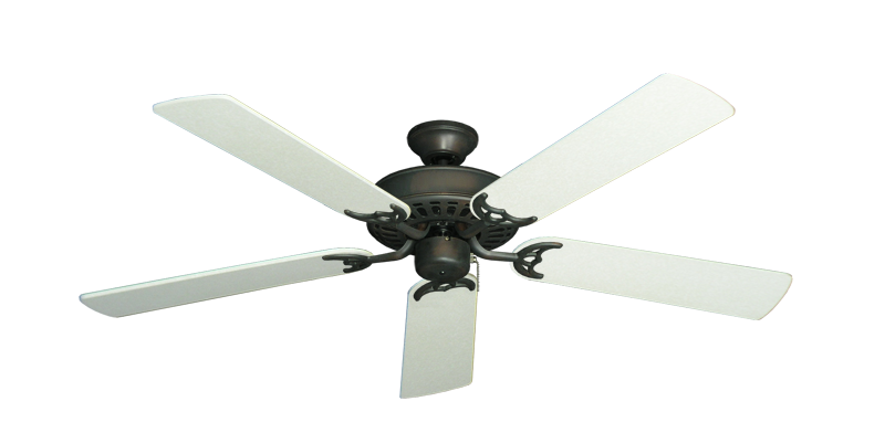 "Picture of Bimini Breeze V Oil Rubbed Bronze with 52"" Navajo White Blades"