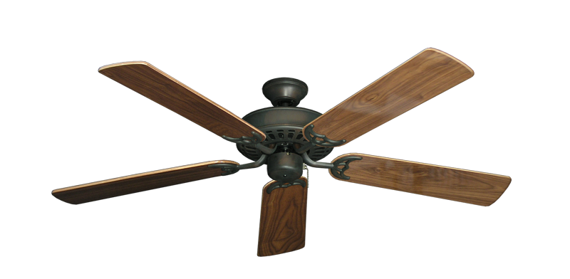 "Picture of Bimini Breeze V Oil Rubbed Bronze with 52"" Walnut Gloss Blades"