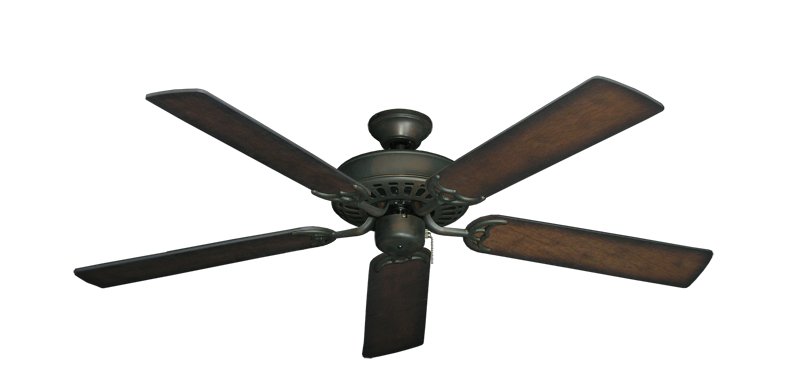 "Picture of Bimini Breeze V Oil Rubbed Bronze with 52"" Distressed Hickory Blades"