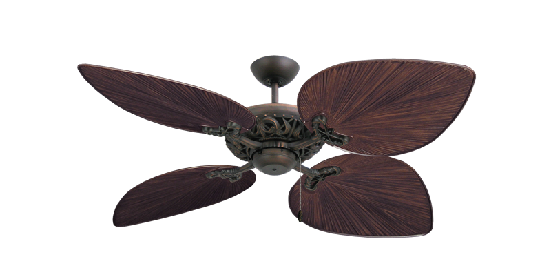 """Picture of Corsica Oil Rubbed Bronze with 53"""" Bombay Oil Rubbed Bronze Blades"""