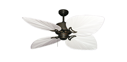 "Bombay Oil Rubbed Bronze with 50"" Bombay Pure White Blades"