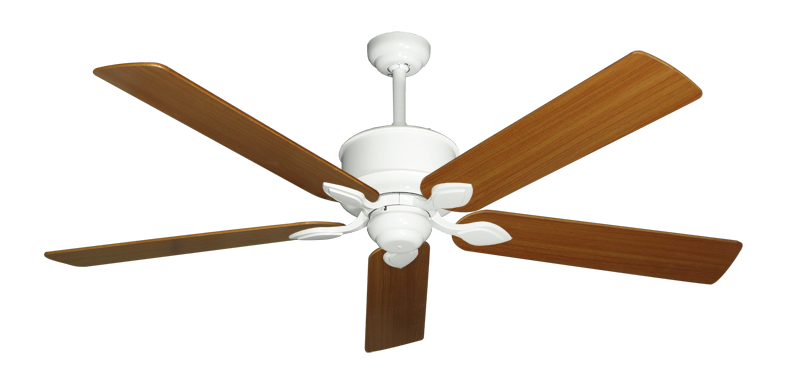 """Picture of Hercules Pure White with 60"""" Teak Blades"""