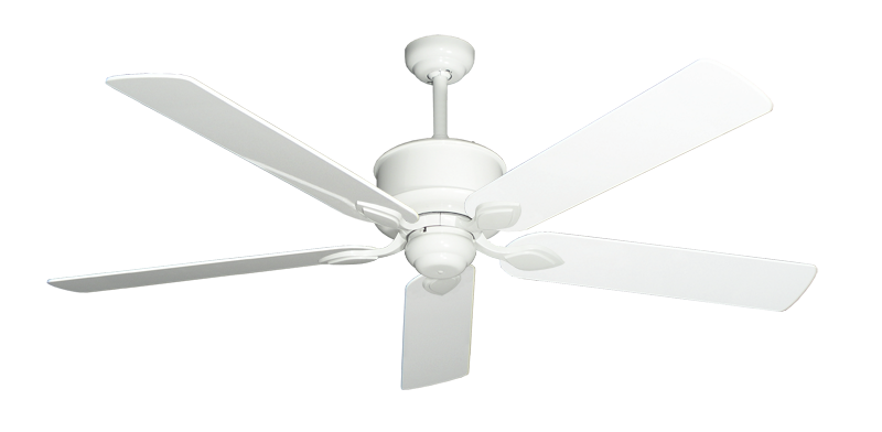 """Picture of Hercules Pure White with 60"""" Pure White Gloss Blades"""