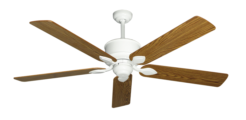 """Picture of Hercules Pure White with 60"""" Oak Gloss Blades"""
