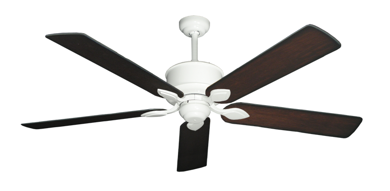 """Picture of Hercules Pure White with 60"""" Distressed Cherry Blades"""