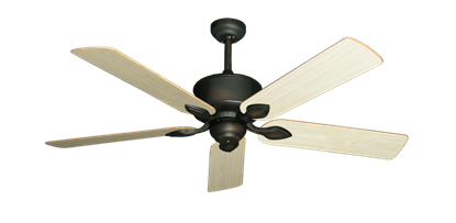 "Picture of Hercules Oil Rubbed Bronze with 52"" Unfinished Oak Blades"