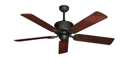 "Picture of Hercules Oil Rubbed Bronze with 52"" Cherrywood Gloss Blades"