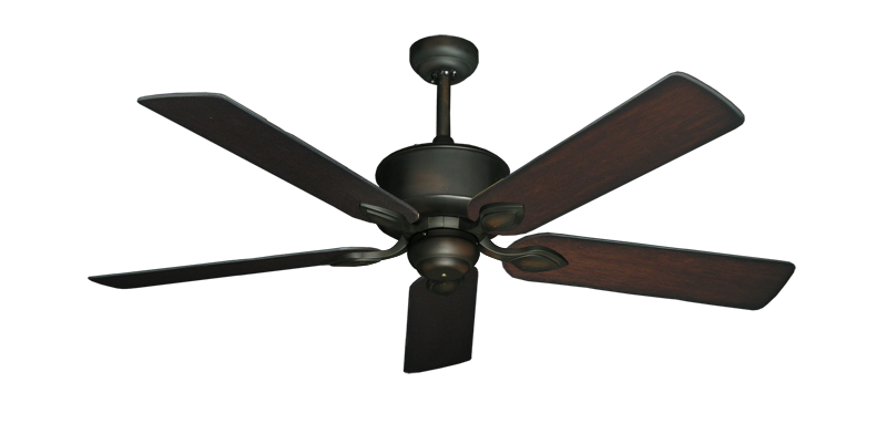 "Picture of Hercules Oil Rubbed Bronze with 52"" Distressed Cherry Blades"
