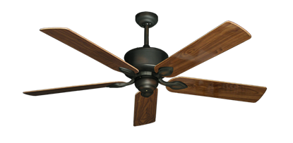 "Picture of Hercules Oil Rubbed Bronze with 56"" Walnut Gloss Blades"