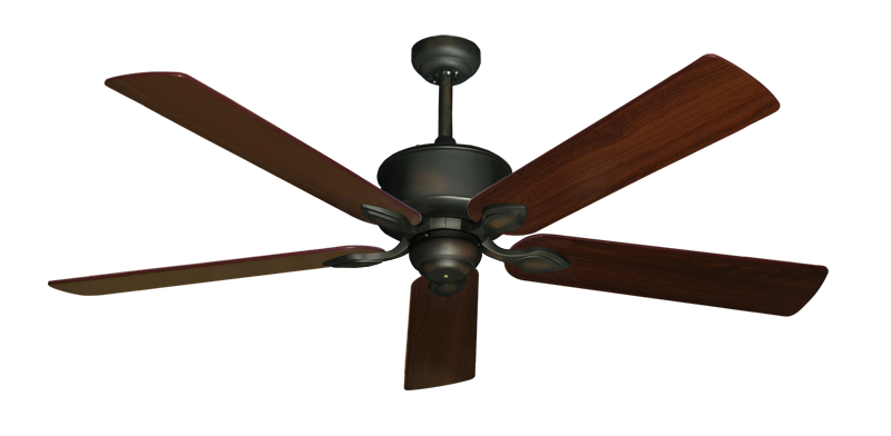 "Picture of Hercules Oil Rubbed Bronze with 60"" Walnut Blades"
