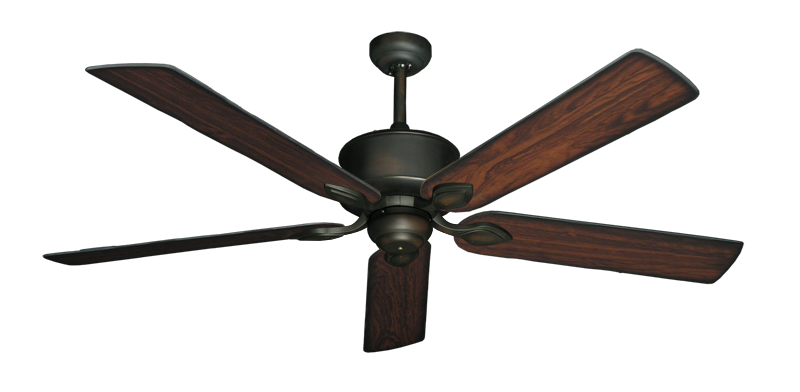 """Picture of Hercules Oil Rubbed Bronze with 60"""" Burnt Cherry Blades"""