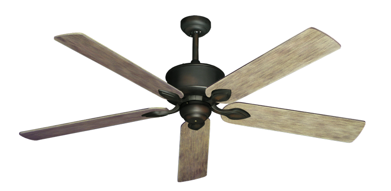 "Picture of Hercules Oil Rubbed Bronze with 60"" Driftwood Blades"