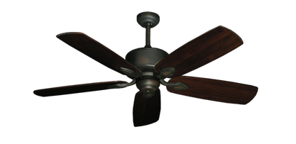 "Picture of Hercules Oil Rubbed Bronze with 52"" Series 710 Arbor Cherrywood Blades"