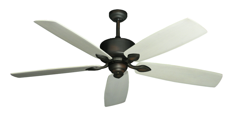 """Picture of Hercules Oil Rubbed Bronze with 60"""" Series 725 Arbor Whitewash Blades"""