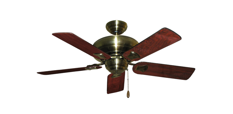 "Picture of Tiara Antique Brass with 44"" Cherrywood Gloss Blades"