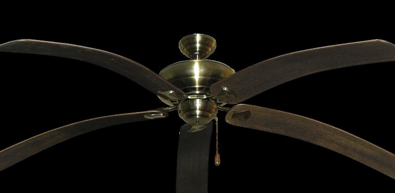 Tiara Ceiling Fan In Antique Brass With 80 Bahama Bent Walnut Blades Dan S Fan City C Ceiling Fans Fan Parts Accessories