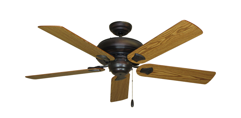 "Picture of Tiara Oil Rubbed Bronze with 52"" Oak Blades"