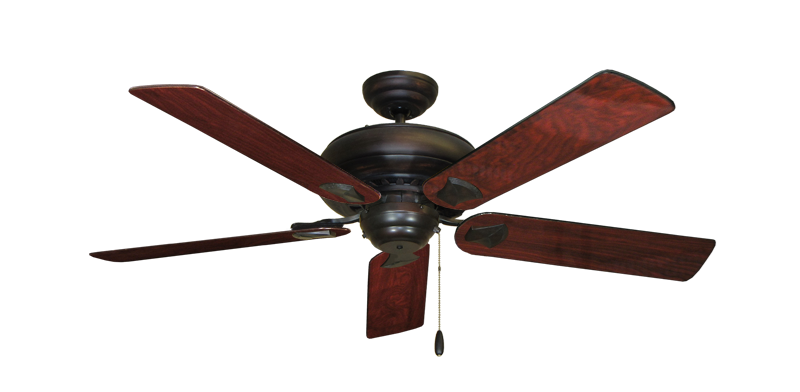 "Picture of Tiara Oil Rubbed Bronze with 52"" Cherrywood Gloss Blades"