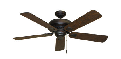 "Picture of Tiara Oil Rubbed Bronze with 52"" Distressed Walnut Blades"