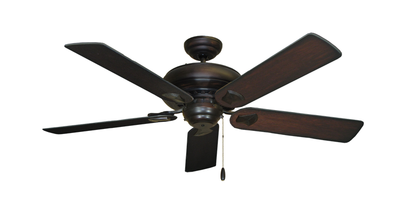 "Picture of Tiara Oil Rubbed Bronze with 52"" Distressed Cherry Blades"