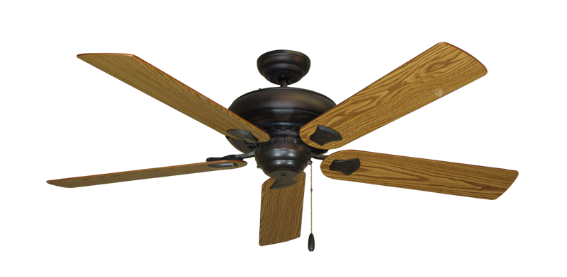 """Picture of Tiara Oil Rubbed Bronze with 56"""" Oak Blades"""