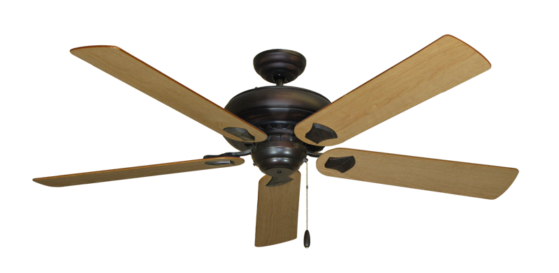 "Picture of Tiara Oil Rubbed Bronze with 60"" Maple Blades"