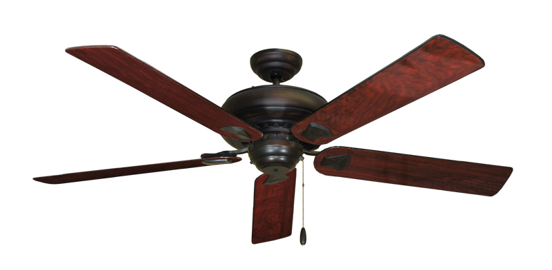 "Picture of Tiara Oil Rubbed Bronze with 60"" Cherrywood Gloss Blades"