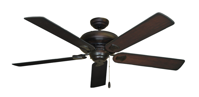 """Picture of Tiara Oil Rubbed Bronze with 60"""" Distressed Cherry Blades"""