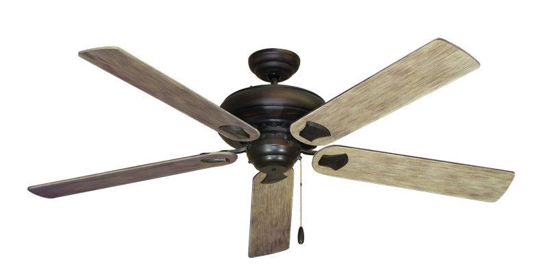 "Picture of Tiara Oil Rubbed Bronze with 60"" Driftwood Blades"