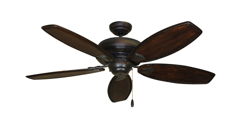 "Picture of Tiara Oil Rubbed Bronze with 52"" Series 550 Arbor Whitewash Blades"
