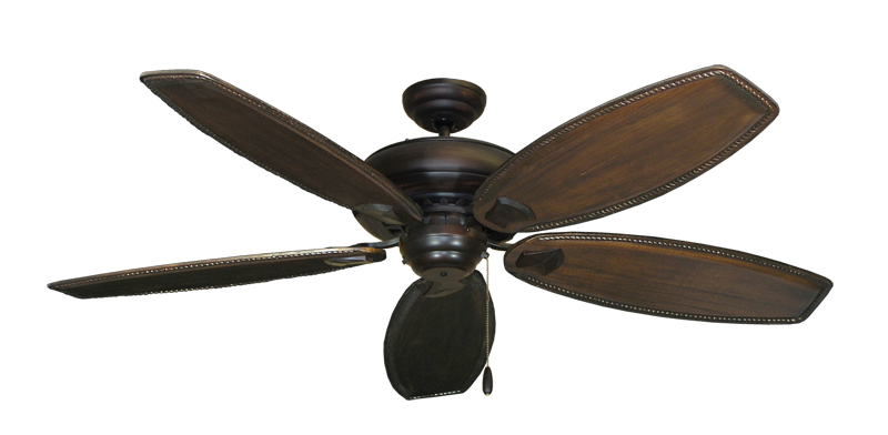 "Picture of Tiara Oil Rubbed Bronze with 60"" Series 525 Arbor Dark Walnut Blades"
