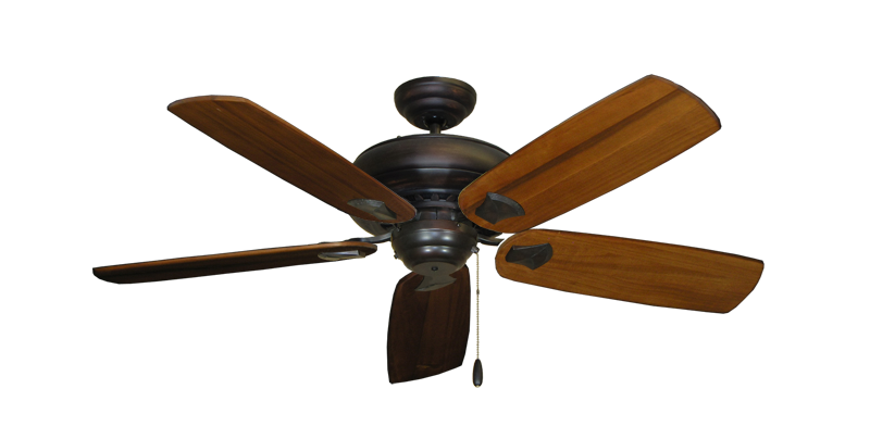 """Picture of Tiara Oil Rubbed Bronze with 52"""" Series 710 Arbor Oak Blades"""