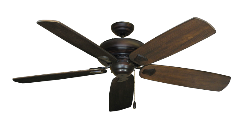 "Picture of Tiara Oil Rubbed Bronze with 60"" Series 725 Arbor Dark Walnut Blades"